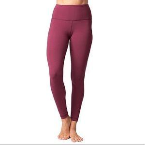 Yogalicious High Waisted Leggings Purple Workout